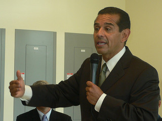 Villaraigosa said City Council must first make the city more competitive before he asks the people of Los Angeles to pay higher taxes. (Neon Tommy/Flickr)
