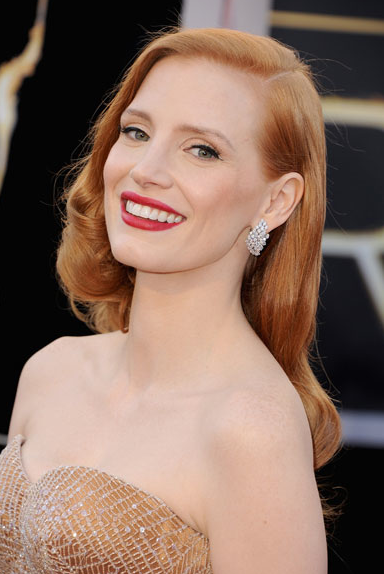 Jessica Chastain (Twitpic)