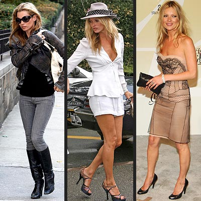 Boho Fashion 2010 on Kate Moss  Style Is A Mix Between Boho Chic And Edgy Glam