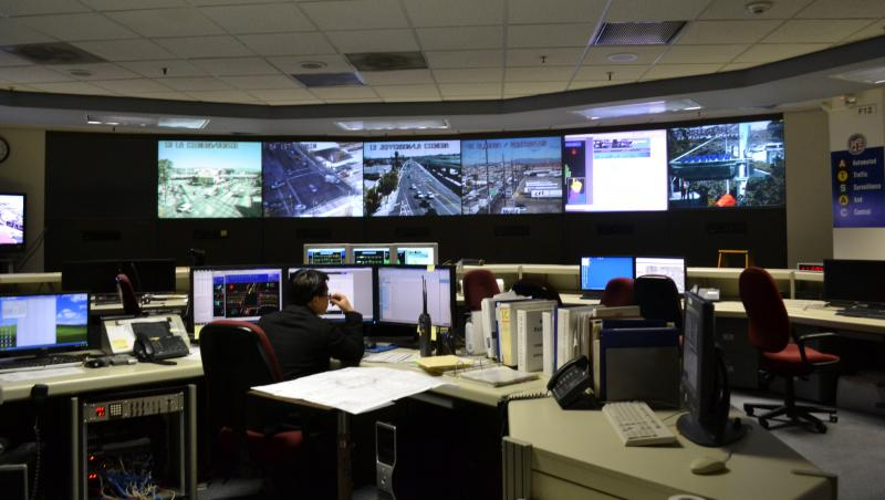 The Automated Traffic Surveillance and Control Center (Judy L. Wang)