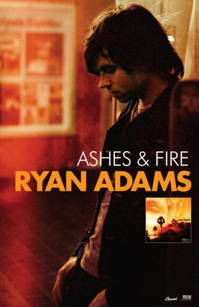 """Ashes and Fire"" shows a new side of Adams."