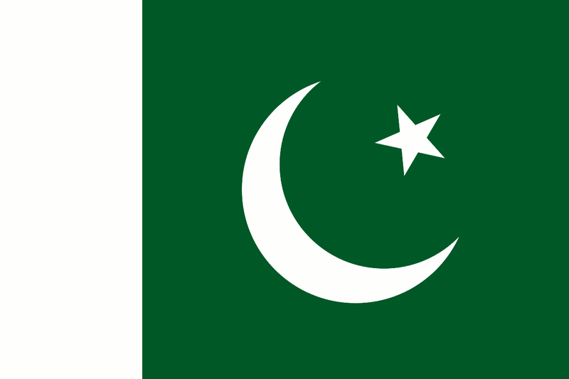 Flag of Pakistan. (Wikimedia Commons)