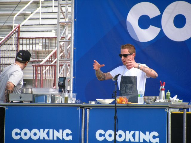 Michael Voltaggio (Photo courtesy of USC Communications)