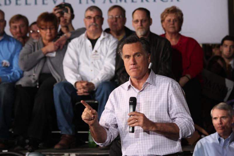 Mitt Romney is the front runner in the Virginia Primary on Super Tuesday (Photo courtesy of Creative Commons)..
