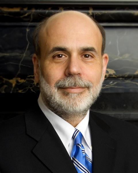 Federal Reserve Chairman Ben Bernanke (Wikimedia Commons)