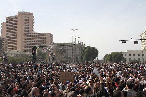 The Egyptian uprising, one year ago (Creative Commons)