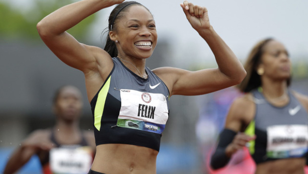 Will Allyson Felix add more gold to her medal collection when it's all said and done in London? (USC Trojans/Eric Gay)