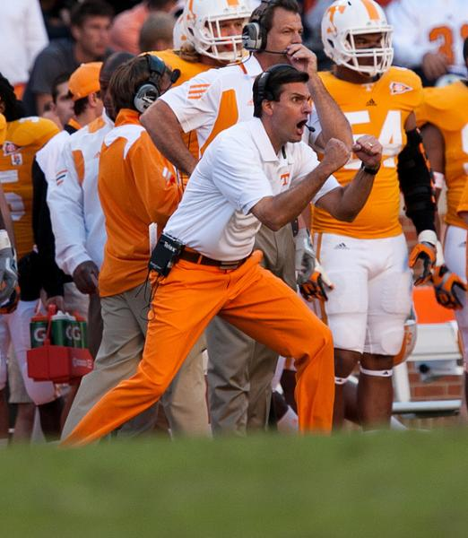 Dooley has a legitimate chance to get the Volunteers' first win over Florida since 2004 (Tennessee Journalist/Creative Commons).
