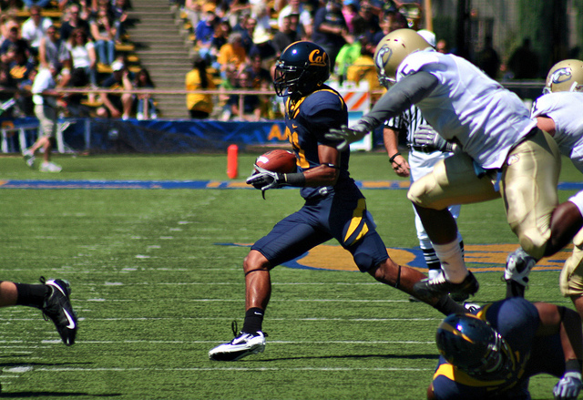 Keenan Allen represented the Golden Bears offense in Burbank Tuesday (Creative Commons/Monica's Dad).