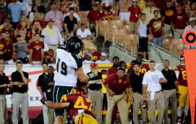Rattling Maynard is essential for USC to notch its third win of the season (Jerry Ting/NT).