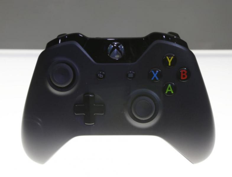 The Xbox One controller design (Microsoft)