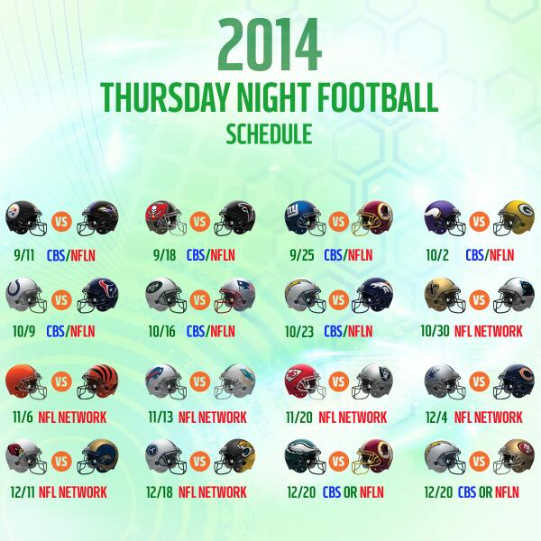 ncaa games this weekend thursday nite football schedule