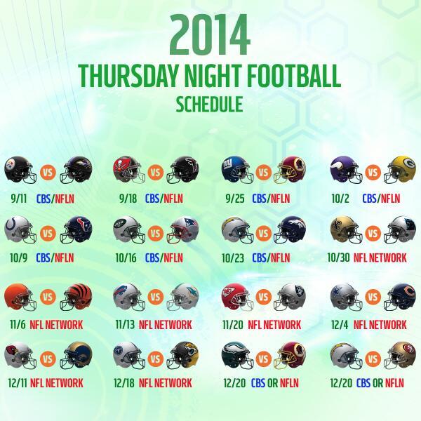 espn nfl football schedule cbs football