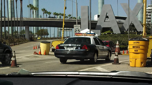 Panic ensued at LAX Friday night after a gunman was reported at Terminal 4. (Creative Commons/ynkefan1)