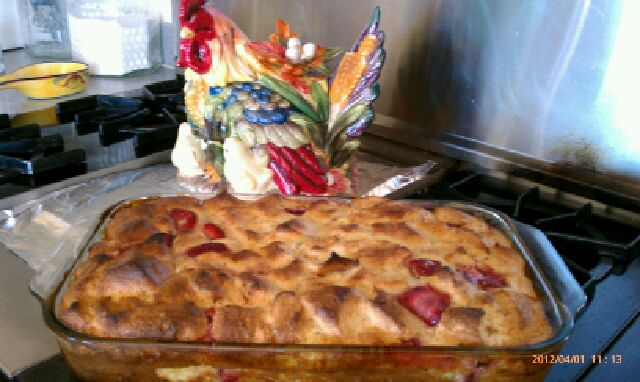 Fully Baked & Ready To Eat Strawberry Strata (Geanna Crisanta / Neon Tommy)