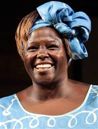 """Today we are faced with a challenge that calls for a shift in our thinking."" - Wangari Maathai (Isaac Mao, Creative Commons)"
