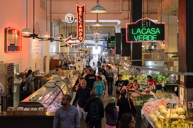 Grand Central Market (Benjamin Dunn/Neon Tommy)