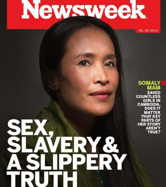 Somaly Mam was exposed once again by Newsweek (Newsweek).