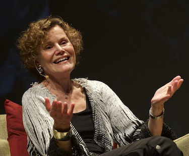 Judy Blume in Little Tokyo (Photo courtesy of Gary Leonard/LFLA)