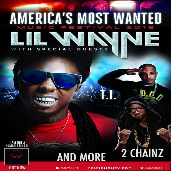"The ""America's Most Wanted"" tour ended on September 1st (Young Money)."
