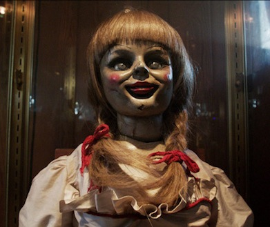 "The creepy doll from ""The Conjuring"" is back in ""Annabelle"" (Warner Bros)."
