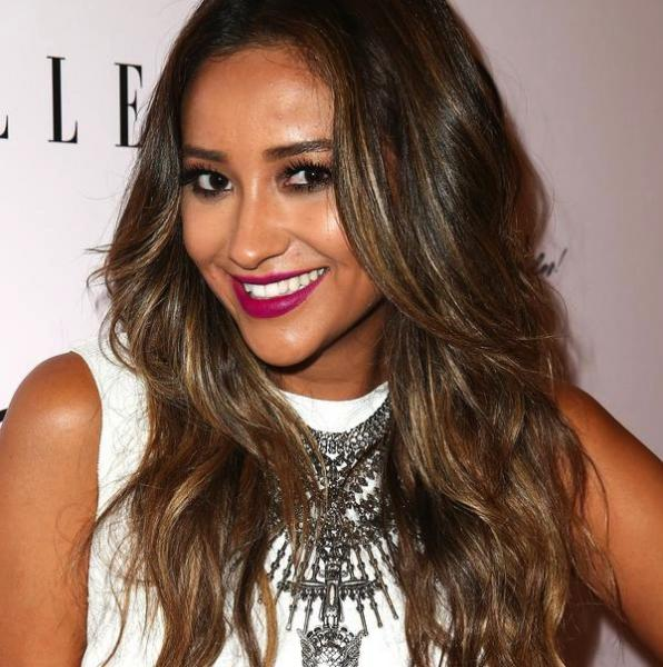 Shay Mitchell is fierce just like Pocahontas (Twitter/@twistmag).
