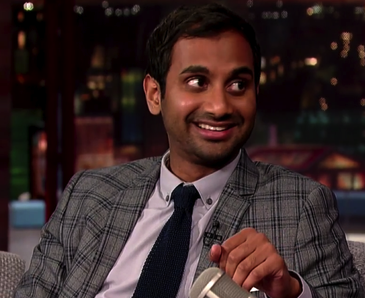 Would you recognize Aziz Ansari in public? (Twitter/@Cosmopolitan)