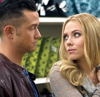 "Scarlett Johansson as Barbara and Joseph Gordon-Levitt as Jon in ""Don Jon"" (Voltage Pictures)."