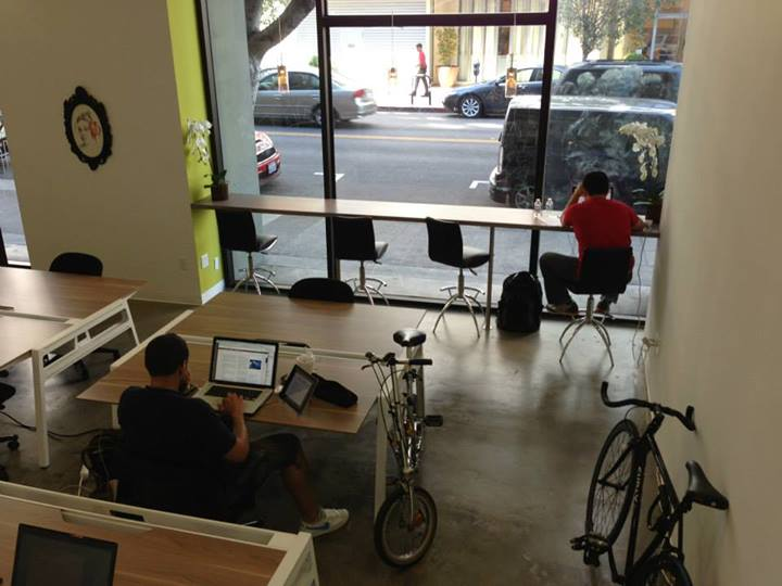 Co-working spaces aim at creating a shared office for isolated working people like freelancers or independent contractors, who don't need or cannot afford a traditional office. (Opodz)