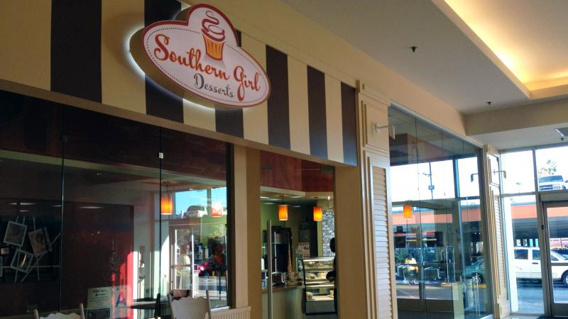 One of Southern Girl Desserts' stores is located in the Baldwin Hills Crenshaw Plaza, close to the USC community (Kelli Shiroma / Neon Tommy).