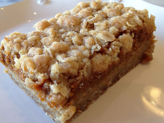 "The ""Pumpkin Bars"" at Cookie Casa Bakery are a seasonal treat (Kelli Shiroma / Neon Tommy)."