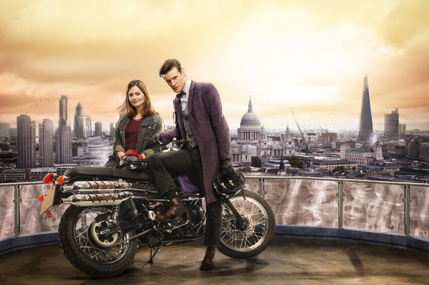 New-ish companion Clara (Jenna-Louise Coleman) and the Doctor (Matt Smith) have sparkling chemistry but the episode leaves viewers a bit wanting. (BBC)