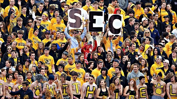 There are college football fans and then there are SEC football fans. (Jamie Squire/Getty Images)