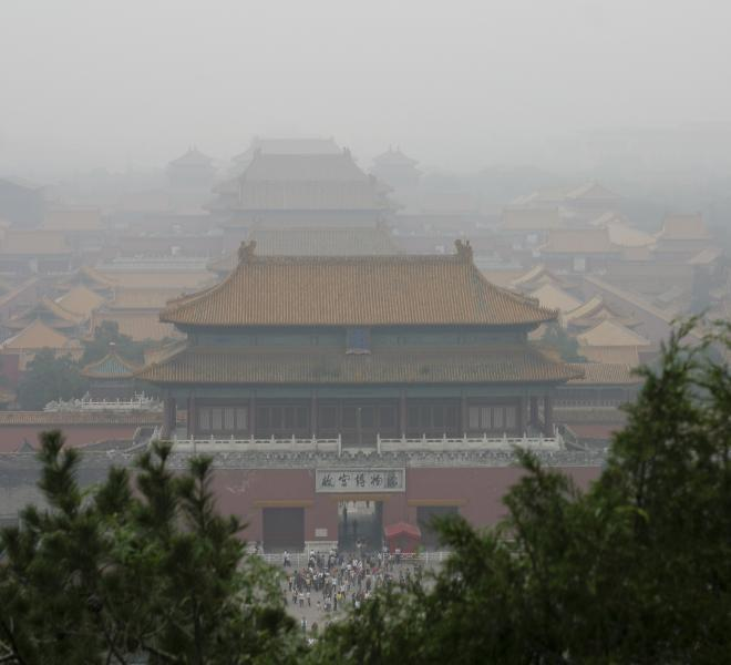 A Hazy Day in Beijing, China / Creative Commons