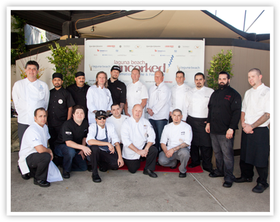 Star chefs gathered at last year's Laguna Beach Uncorked! Event (Laguna Beach Uncorked!)
