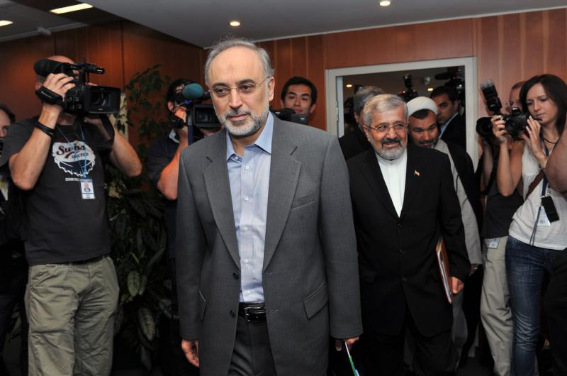 Iranian Foreign Minister Ali Akbar Salehi in 2011. (Creative Commons)