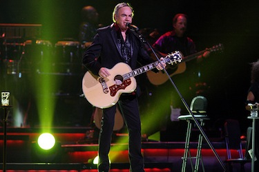Neil Diamond performing in 2011. (Creative Commons, Eva Rinaldi)